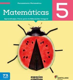MATEMATICAS 5 PRIM. -ESPACIOS CREATIVOS- (ED.2018)