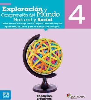 EXPLORACION Y COMPREN. DEL MUNDO NAT.Y SOC. 4 PRIM. -ESP.CREAT.-