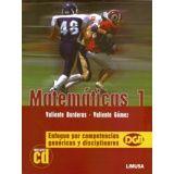 MATEMATICAS 1 -ENFOQUE POR COMPETENCIAS- C/CD