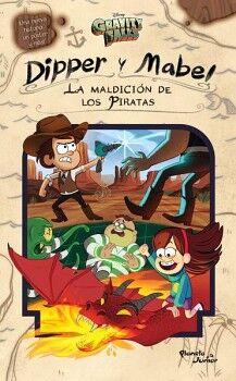 GRAVITY FALLS -DIPPER Y MABEL LA MALDICION DE LOS PIRATAS-