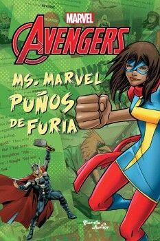 MS. MARVEL PUÑOS DE FURIA                 (MARVEL AVENGERS)
