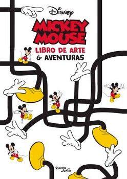 MICKEY MOUSE -LIBRO DE ARTE & AVENTURAS-