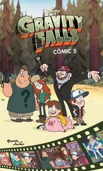 GRAVITY FALLS COMIC 5                     (PLANETA JUNIOR)