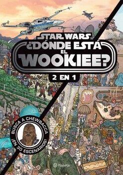 STAR WARS ¿DONDE ESTA EL WOOKIEE? 2 EN 1