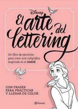 DISNEY -EL ARTE DEL LETTERING-