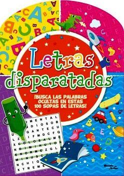 LETRAS DISPARATADAS -BUSCA LAS PALABRAS OCULTAS-