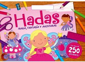 HADAS -MAGIA, FANTASIA Y AVENTURAS-       (C/250 STICKERS)