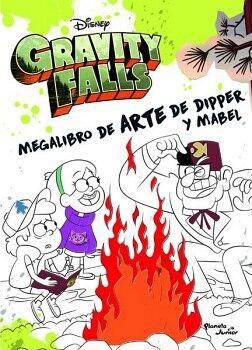 GRAVITY FALLS -MEGALIBRO DE ARTE DE DIPPER Y MABEL-