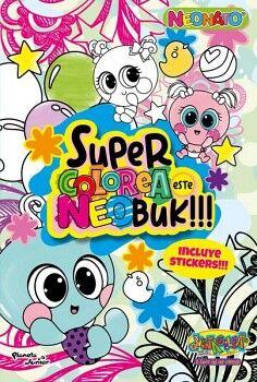 NEONATOS. SUPERCOLOREA ESTE NEOBUK!!!