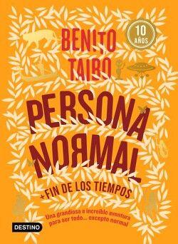PERSONA NORMAL/FIN DE LOS TIEMPOS (NARANJA)