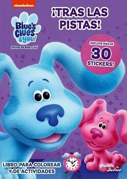 PISTAS DE BLUE Y TÚ! -¡TRAS LAS PISTAS!-  (C/STICKERS)