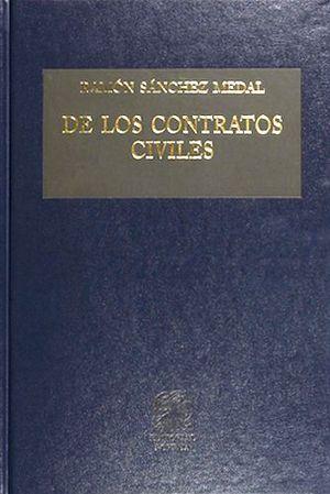 DE LOS CONTRATOS CIVILES