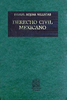 DERECHO CIVIL MEXICANO TOMO 6 VOL. 1 CONTRATOS