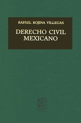 DERECHO CIVIL MEXICANO TOMO V VOL. 1