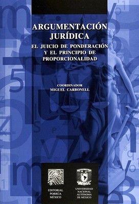 ARGUMENTACION JURIDICA -EL JUICIO DE PONDERACION-