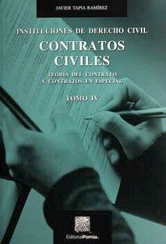 INSTITUCIONES DE DERECHO CIVIL -CONTRATOS CIVILES- (TOMO IV) 2ED.