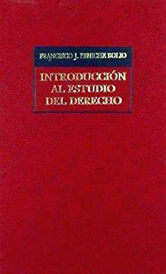 INTRODUCCION AL ESTUDIO DEL DERECHO  (TELA)