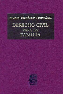DERECHO CIVIL PARA LA FAMILIA