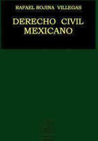 DERECHO CIVIL MEXICANO TOMO III -BIENES, DER.REALES Y POSESION-