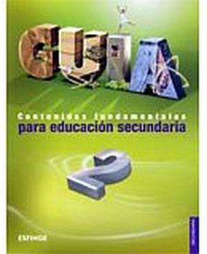 GUIA 2DO. SEC. CONTENIDOS FUNDAMENTALES
