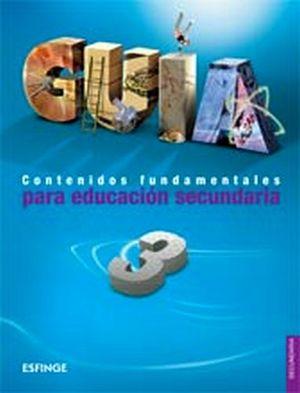 GUIA 3RO. SEC. CONTENIDOS FUNDAMENTALES