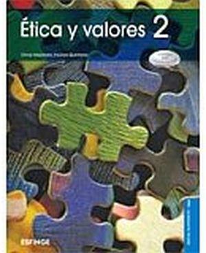 ETICA Y VALORES 2 (MEDIA SUP/DGB/COMPET.) -CONCIENCIA ETICA-