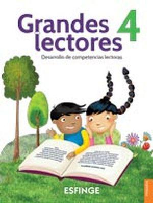 GRANDES LECTORES 4 PRIM. -DESARROLLO COMPETENCIAS LECTORAS-