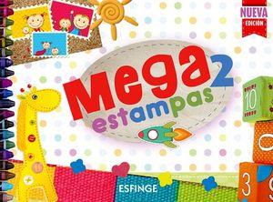 MEGAESTAMPAS 2 PREESC. 2ED.