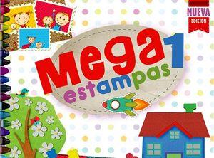 MEGAESTAMPAS 1 PREESC. 2ED.