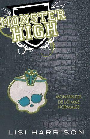 MONSTER HIGH 2 (AMARILLO/RUSTICO) -MONSTRUOS DE LO MAS NORMAL-