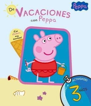 PEPPA PIG -DE VACACIONES CON PEPPA 3 AÑOS- (CUAD.ACT)