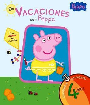 PEPPA PIG -DE VACACIONES CON PEPPA 4 AÑOS- (CUAD.ACT)