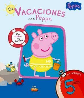 PEPPA PIG -DE VACACIONES CON PEPPA 5 AÑOS- (CUAD.ACT)