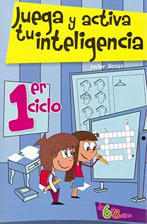 JUEGA Y ACTIVA TU INTELIGENCIA  -LB/NVA.ED-  (HIDRO)