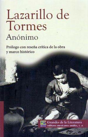 LAZARILLO DE TORMES, EL (1/2 CARTA/GDES DE LA LIT) NVA. PRESENTAC