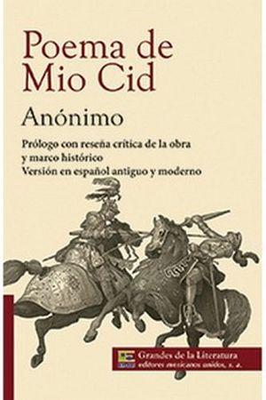 POEMA DE MIO CID (1/2 CARTA/GDES. DE LA LIT.) -NVA PRESENTACION-
