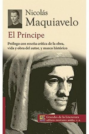 PRINCIPE, EL (1/2 CARTA/GRANDES DE LA LITERATURA) NVA. PRESENT.
