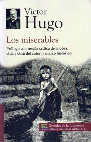 MISERABLES, LOS (1/2 CARTA/GDES. DE LA LIT.) NVA. PRESENTACION