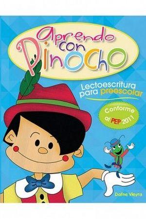 APRENDO CON PINOCHO -LECTOESCRITURA P/PREESCOLAR- (PEP 2011)