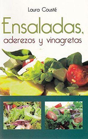 ENSALADAS, ADEREZOS Y VINAGRETAS -LB/NVA.ED.-  (HIDRO)