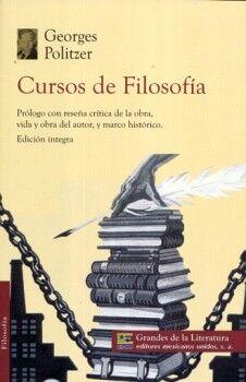 CURSOS DE FILOSOFIA (1/2 CARTA/GDES. DE LA LIT.)