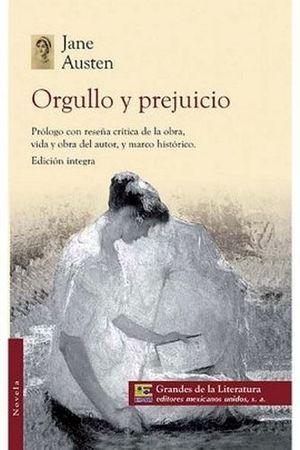 ORGULLO Y PREJUICIO (1/2 CARTA/GDES. DE LA LIT.)