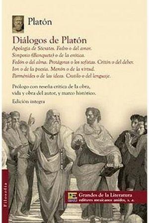 DIALOGOS DE PLATON (1/2 CARTA/GDES. DE LA LIT.)