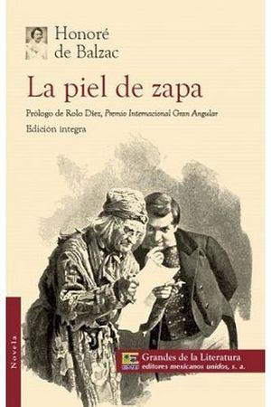 PIEL DE ZAPA, LA (1/2 CARTA/GDES. DE LA LIT.)