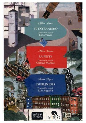 PAQUETE ARTE Y LETRAS (C/3 LIBROS-EXTRANJERO/PESTE/DUBLINESES)