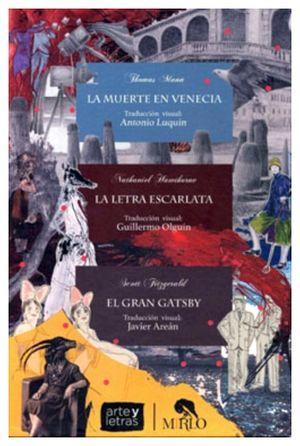 PAQUETE ARTE Y LETRAS (C/3 LIBROS-MUERTE VENECIA/LETRA/GATSBY)