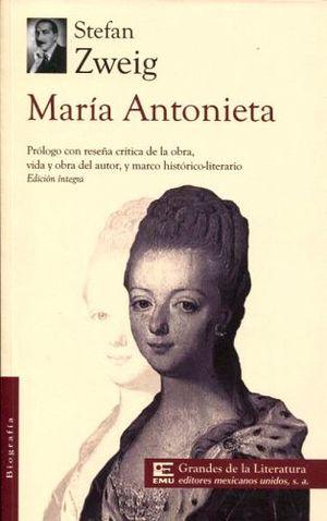 MARIA ANTONIETA (1/2 CARTA/GDES. DE LA LIT.)