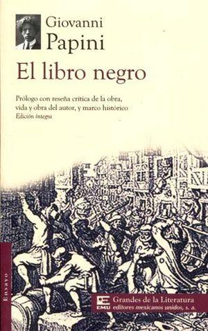 Libro Negro El 1 2 Carta Gdes De La Lit Papini