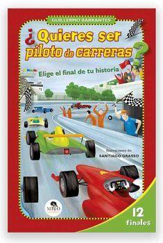 QUIERES SER PILOTO DE CARRERAS? -ELIGE EL FINAL DE TU HISTORIA-