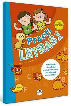 PRACTI LETRAS 1                      (CON STICKERS)